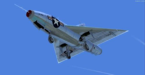 Convair Model 7002 XF-92A FSX  &  P3D