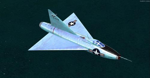 Convair_Model_7002_XF-92A_FSX_P3D_22
