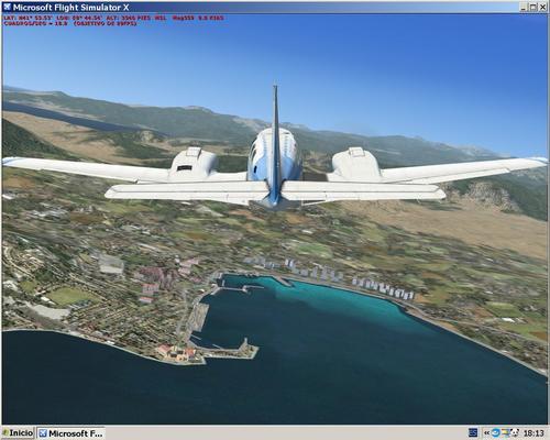 Corsica version I FSX & P3D