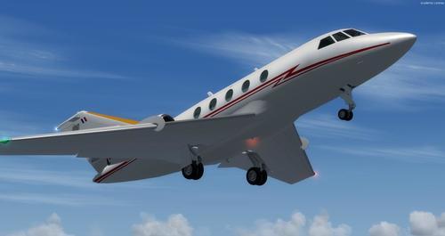 Dassault Falcon 20E FSX  &  P3D