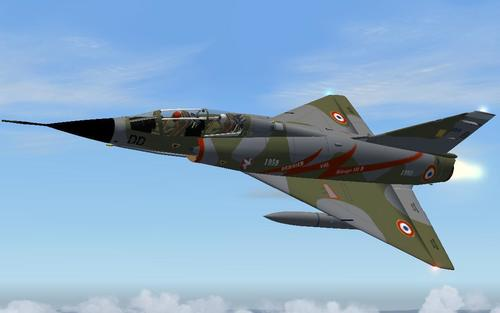 Dassault Mirage III B Last Flight FSX-A