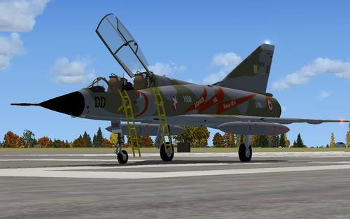 Dassault Mirage III B ຫຼ້າສຸດ Flight FS2004