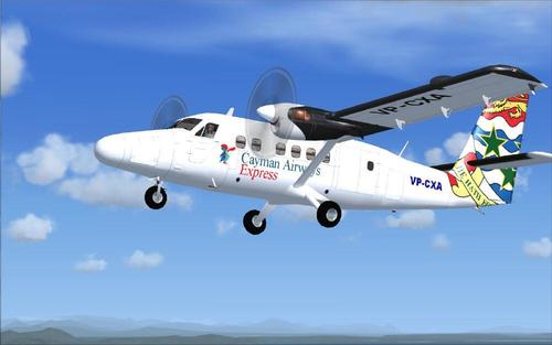 DeHavilland Viking DHC6-400 Twin vydra FSX