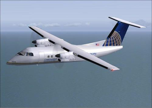 Pacáiste 8 DeHavilland DHC202-Q do FSX