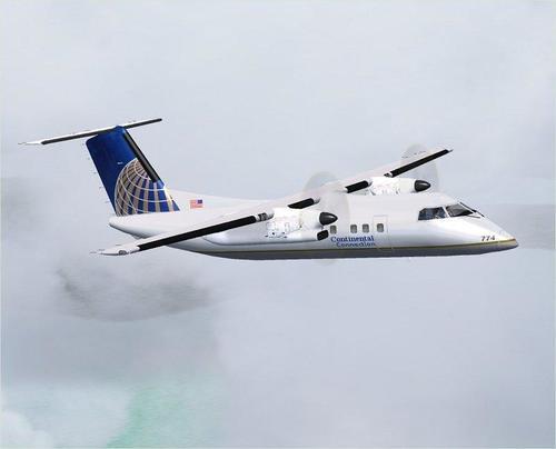 DeHavilland DHC8-Q 202 ຫຸ້ມຫໍ່ສໍາລັບ FSX