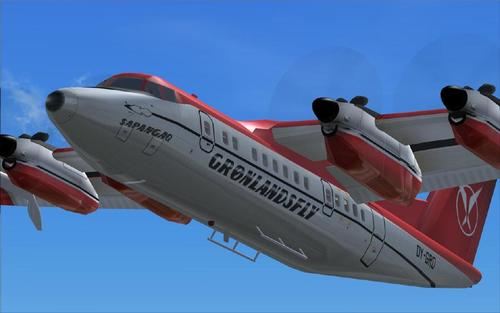 DeHavilland DHC 7 VC based Passenger Edition FS2004