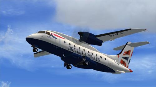 Dornier Do328 Turbo voor FSX
