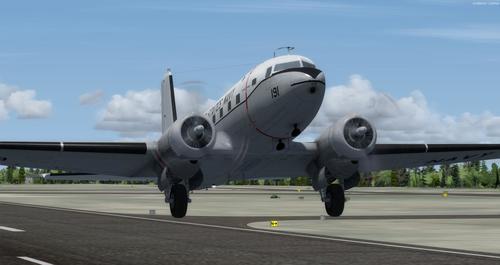 Douglas C-117D FSX & P3D