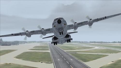 ડગ્લાસ સી 133B Cargomaster USAF FS2004