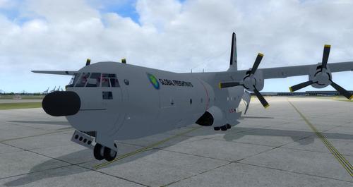 Douglas C-133B Cargomaster přepracován 2.0 FSX  &  P3D