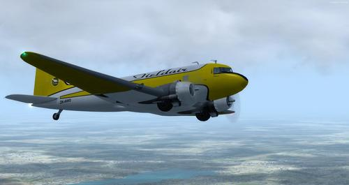 Douglas_DC-3_ Whakarei_FSX_P3D_22