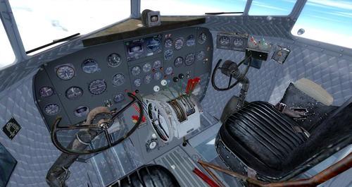 Douglas_DC-3_ Whakarei_FSX_P3D_44