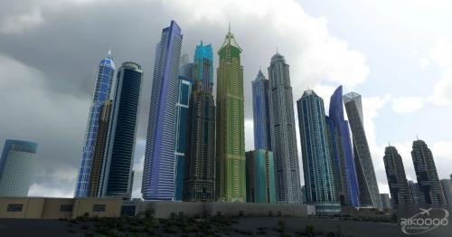 """Dubai City Pack v1.0 MSFS 2020"""