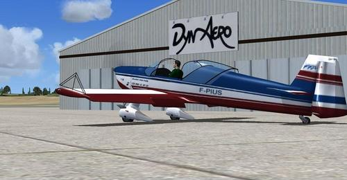 Hanga aero CR100 FSX SP2