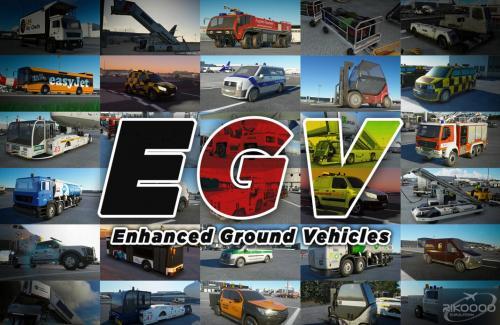 EGV Enhanced Ground Vehicles MSFS 2020