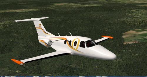 Zatmenie 550 v1.1 X-Plane  10