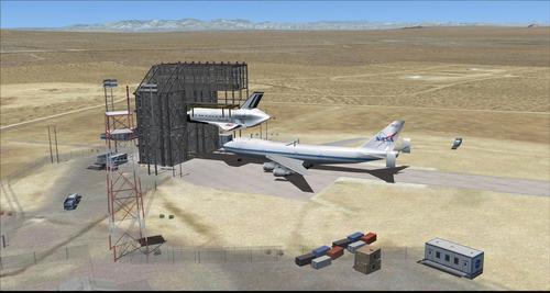 Edwards Air Force Base KEDW Photoreal FSX & P3D