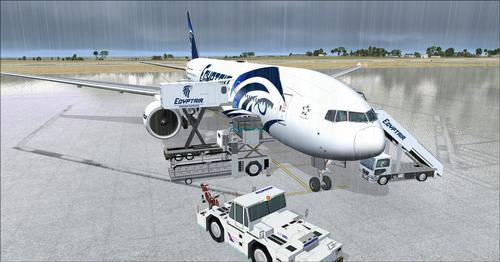 Egyptair Flott Ultimate Pack v1.2 FSX  &  P3D