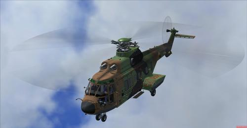 Eurocopter AS332 franski herinn FSX-ACC & FSX-Steam