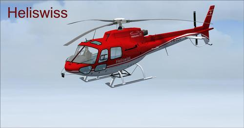 Eurocopter AS350-BA Fspainter Complete FS2004