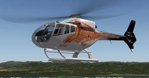 ಯುರೋಕಾಪ್ಟರ್ EC120B ಕೊಲಿಬ್ರಿ v1.3 X-Plane  10
