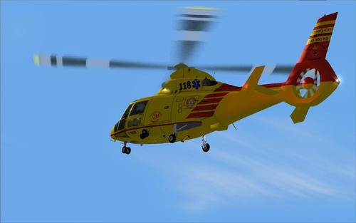 Eurocopter HH 65 Dolphin Helicopter rescue Trento FS2004