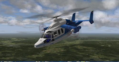Eurocopter X3 v1 X-Plane 10