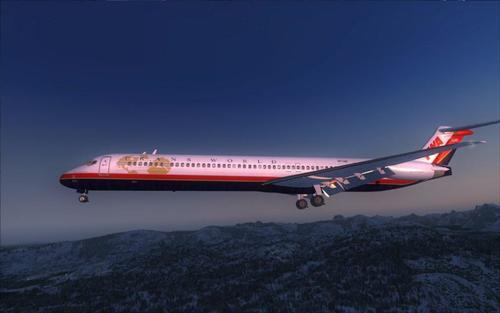 FSND ಮೆಕ್ಡೊನೆಲ್-ಡೌಗ್ಲಾಸ್ MD-83 FSX