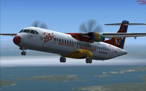 Συσκευασία ATR 72-200 / 500 Δανίας FSX  &  P3D