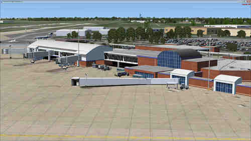 Internationale Luchthaven Fort Wayne P3D