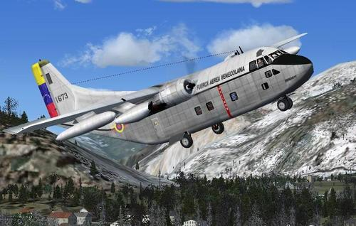 Fairchild C-123 K Provider Package for FS2004