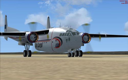 Fairchild C119 LEAS Air Cargo NAM FSX
