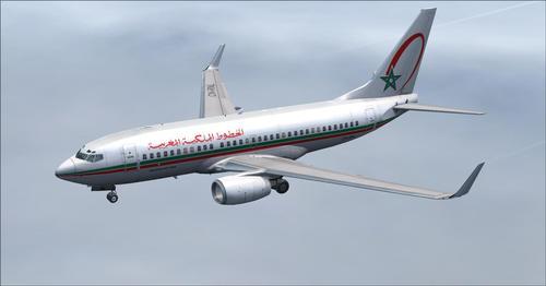 Flotte Royal Air Maroc FSX & P3D