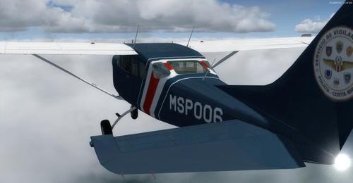 FlightPort Cessna U206G Соло Марк 1 FSX  &  P3D