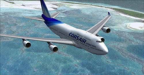 Corsair International बेड़े FSX  &  P3D