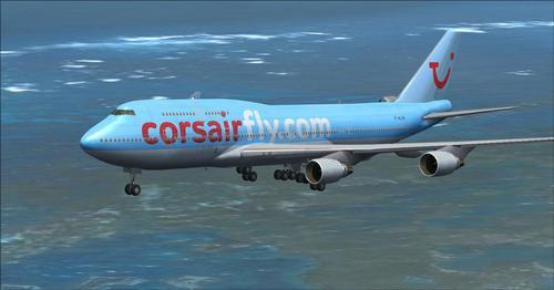 Corsair International Fleet FSX & P3D
