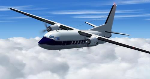 Fokker 27 familie FSX  &  P3D