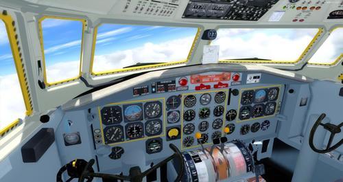 Fokker 27 fjölskylda FSX & P3D