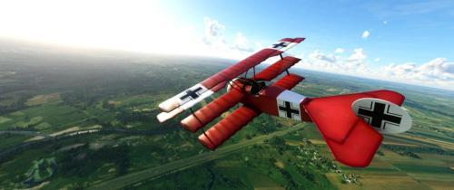 Fokker_DR.1_Triplane_Red_Baron_MSFS_2020_1
