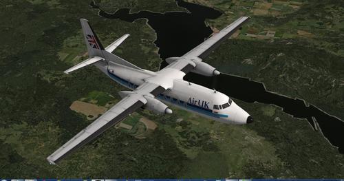 フォッカーF27-600 1.1 X-Plane  10