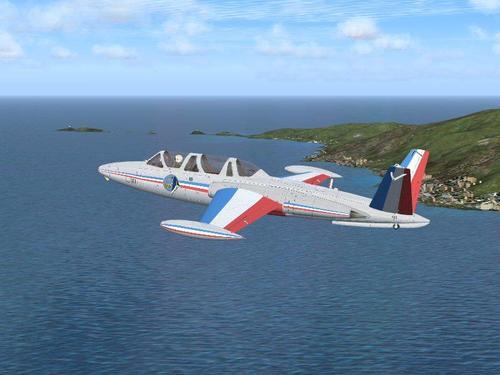 Fouga Magister CM170 v1.1 FSX