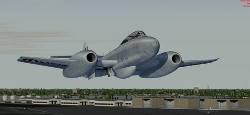 Meteor Gloster T Mk 7.5 FSX & P3D
