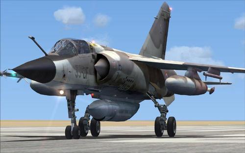 แพ็คเกจ Gmax Dassault Mirage F1 FSX  &  P3D