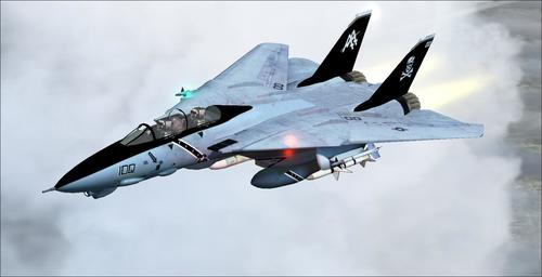 グラマンF-14B TomcatのFS2004