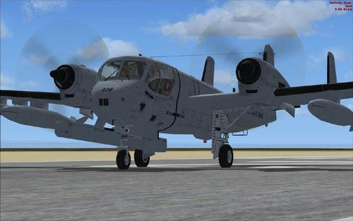 Grumman OV-1 Super Mohawk Series FSX-SP2