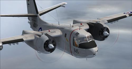 Grumman_S2F-3_Tracker_FSX_ Ir _P3D_Paketas_33
