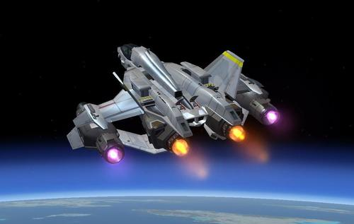 HALO 4 YSS-1000 Sabre Starfighter FSX & P3D