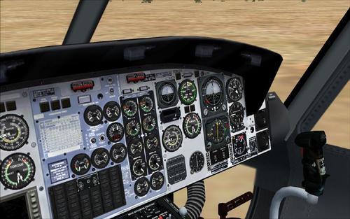 Bell HC412 Bambi Bucket Doors FSX