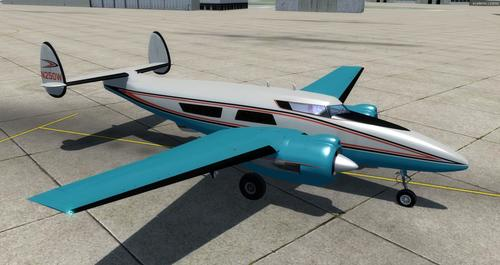 Package ea Howard 250 Trigear FSX  &  P3D