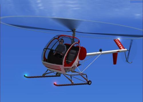 Hughes 269C FSX